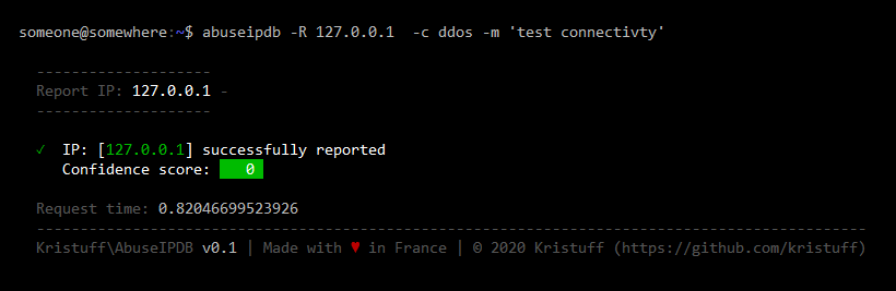 Report (internal IP)